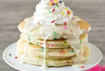 it's a party = birthday breakfast