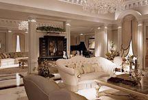 Classical livingrooms