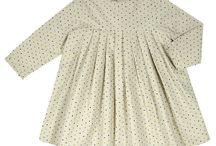 Vestidos Bonett a Pompom / Preciosas vestidos de telas muy suaves y con unos acabados estupendos para nuestras niñas.