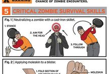 Zombie Apoc / For all the ppl who have got their own survival bag ready in their wardrobe!