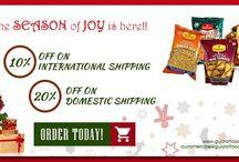Christmas Special Offer - GujaratFood.com