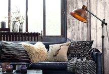 Industrial rustic decoration / Home decoration