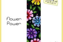 Peyote Patterns: Flowers and Leaves / by Viki's Beading