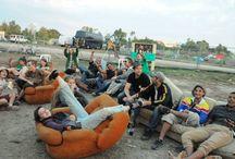 Les bénévoles du Reggae Sun Ska Festival