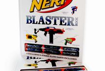NERF: The Ultimate Blaster Book / The first-ever official NERF blaster book produced under license from Hasbro, Inc.'s epic NERF franchise, this is a stunning visual guide to the iconic blasters and a brand synonymous with action and fun.