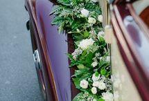 Флористика: Оформление автомобиля