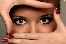 Oczy - nasze okno na świat / Tablica dotyczy przemyśleń oraz pewnych nostalgii
