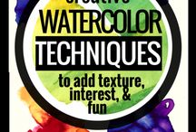 WATERCOLOUR IDEAS