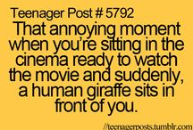 Teenager post / More on randomness board / by adrianna harper