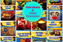 Teen Beach 2 FREE Printables + #Recipes