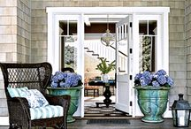 CURB APPEAL / Adding details to your home on the outside steps up curb appeal. Take a look at some ideas