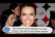 Roció Sanchez Azuara reapareció en redes sociales y luce como en sus mejores tiempos