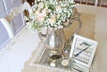 Tea table settings - Musical theme