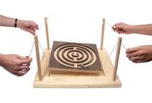 Wood handcrafted games