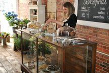 Tea rooms and flowershop