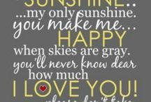 Favorite quotes/sayings