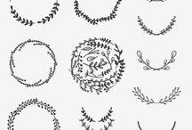 Ornement ~ Calligraphie