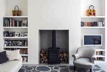 Shelves woodburner