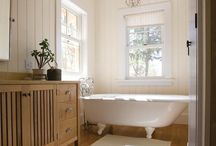 Cottage-inspired Bathrooms