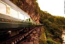Travel by Rail / Seeing the World by Train