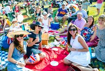 Proms and picnic accessories / We're going to the Battle Proms in July and August 2014.  We need to go shopping, so we're gathering some inspiration!