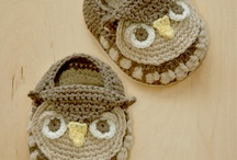 Crochet baby/toddler shoes