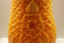 fruit carvings / Fruit carvings