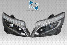 2x Original VOLL LED ILS Scheinwerfer Headlights Komplett Mercedes V-Klasse W447 A447 A4479065200