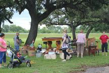Junk in the Park / Junk in the Park is an annual Columbus, Texas Chamber of Commerce Event. It is a city-wide garage sale usually held in April.