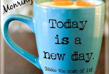 Kaffi/ Morgen.