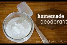 Homemade Products / Home made products to reduce chemical exposure or save money. / by Brigitte Brown