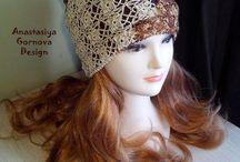 Мои шапки и др. / Шапки и другое связанное мною. Продам, смотри http://www.livemaster.ru/agornovastyle
