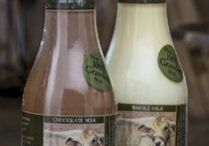 Our Products / Our dairy products are certified organic, 100% grassfed and packaged in glass. They are available at our farm in Zionsville, Indiana, as well as local and regional stores and national chains like Whole Foods and Earth Fare.