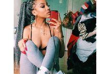 •box braids•