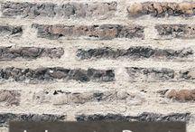 painted brick work ideas