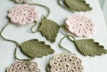 Wedding decoration crochet
