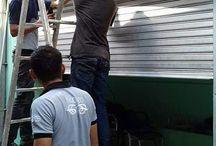 tukang service rolling door paling murah.081381119799.tukang service folding gate paling murah.081381119799