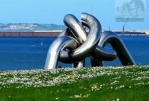 Esculturas en Asturias