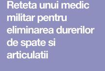 Remedii dureri articulare