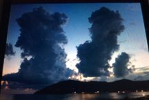 Mare, tramonti, nuvole e tanto altro.