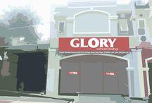 Advertising di Batam / Kami Glory Advertising Jasa Pembuatan Reklame ( Papan Nama berbagai jenis seperti *Branding mobil *Leter Timbul *Patung Fiber *Kontruksi *NeonBox *Decorasi *Pylon