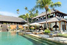 Traditional Balinese Villas / A collection of traditional Balinese villas.