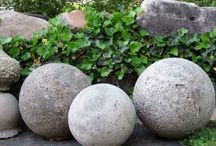 DIY concrete spheres