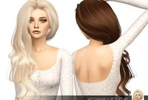 Sims 4 Peinados