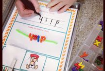Word Work / Part of the daily 5. Great resources, activities, and printables to learn and increase vocabulary! Ways to work on sight words, rhyming, phonics, and more.