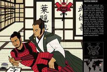芭Katana-Banana-Samen-Samurai芭 / Lovely Nights with Knights in Love