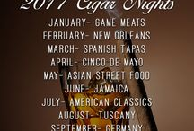 2017 Cigar Series / John Wright Restaurant is hosting different themed Cigar Series on the last Thursday of every month. Stay tuned for a menu paired with specialty alcohol and cigars!