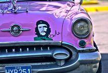 CUBA et son imaginaire /  CUBA fait rêver le monde avec tout son imaginaire, le Chè, ses voitures américaines, ses couleurs et sa musique !!!