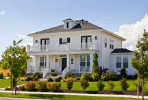 American Foursquare Homes / All about American Foursquare home architecture and interior design.