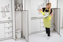 3D Illustrated Kitchen
